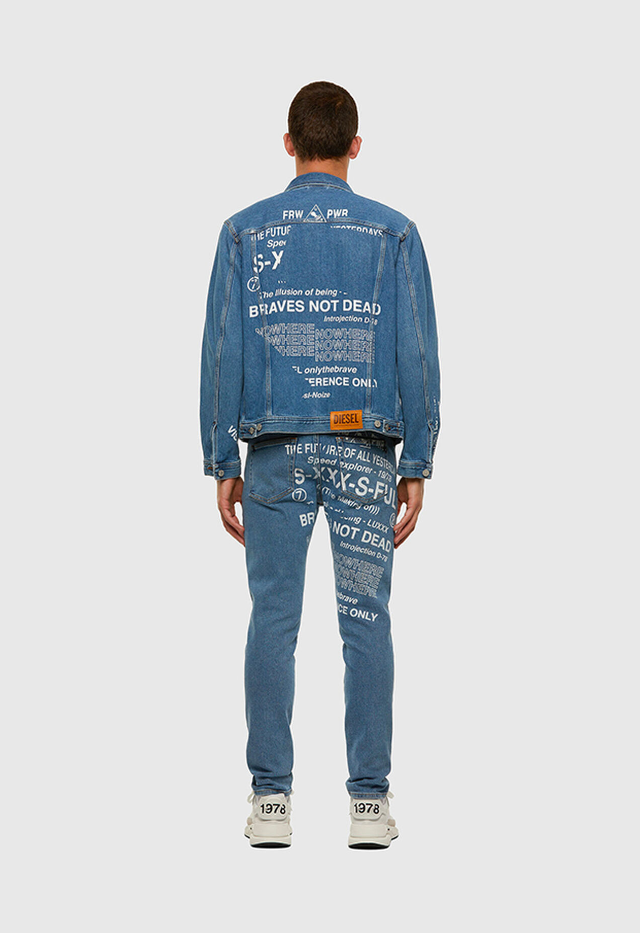 D-Strukt 009DX, Light Blue - Jeans
