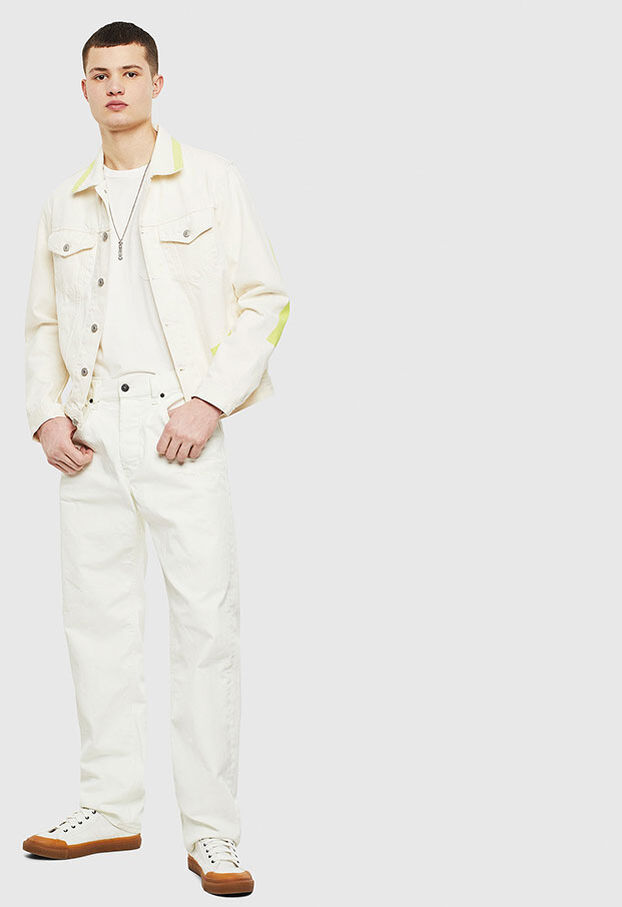 NHILL-SP, White - Denim Jackets