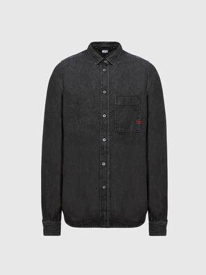 D-BILLY, Black - Denim Shirts