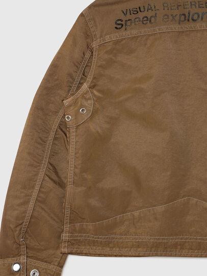 Diesel - JBERKLEY, Brown - Jackets - Image 4