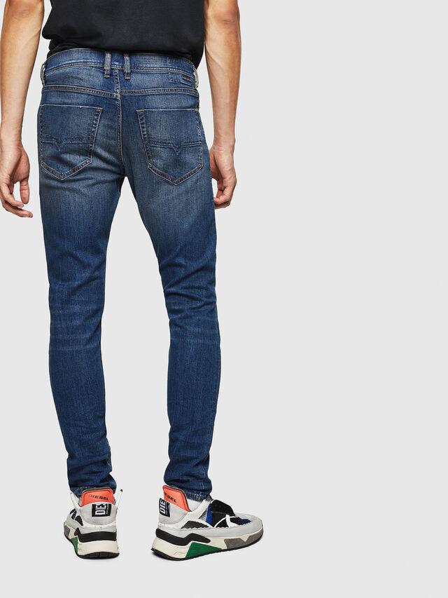 Diesel - Tepphar 087AW, Dark Blue - Jeans - Image 2