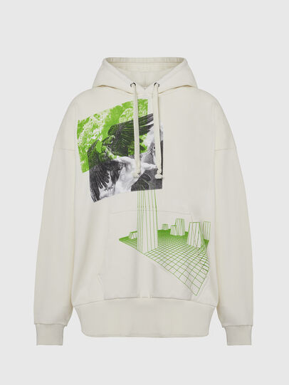 Diesel - S-ALBY-X2, White - Sweaters - Image 1