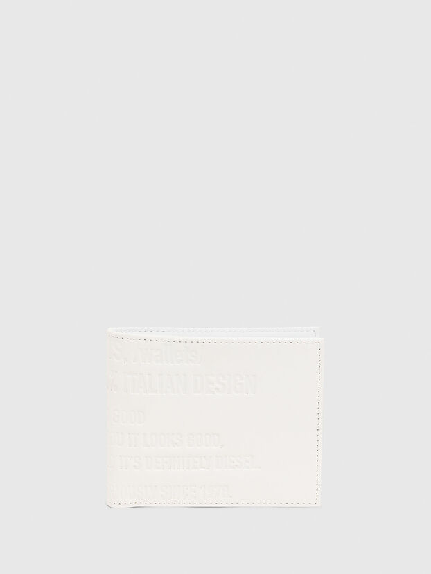 HIRESH S, White - Small Wallets