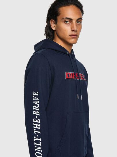Diesel - S-GIRK-HOOD-K10, Dark Blue - Sweaters - Image 3