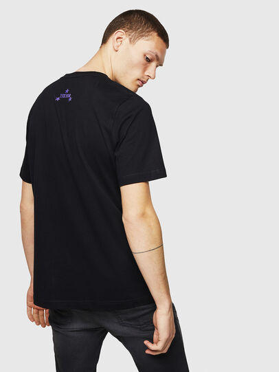 Diesel - T-JUST-A12, Black - T-Shirts - Image 2
