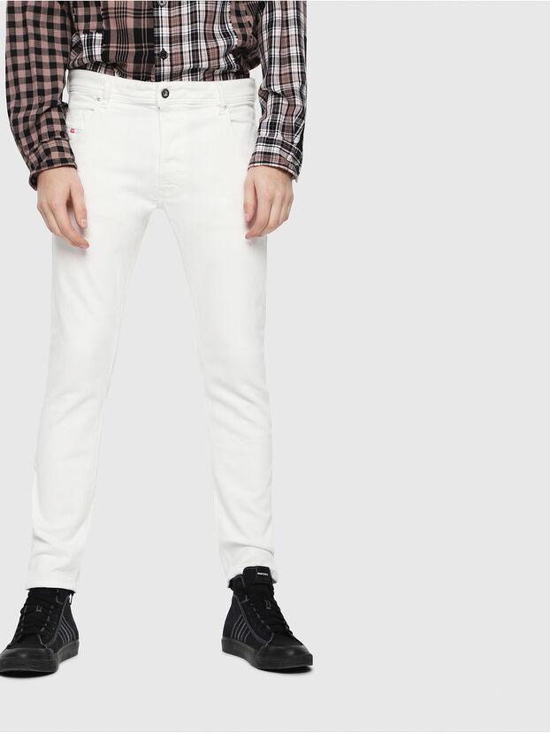 Krooley JoggJeans 088AZ, White - Jeans