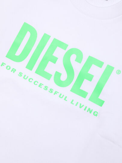 Diesel - SCREWDIVISION-LOGOX, White - Sweaters - Image 3
