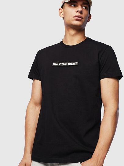 Diesel - T-DIEGO-T16, Black - T-Shirts - Image 1