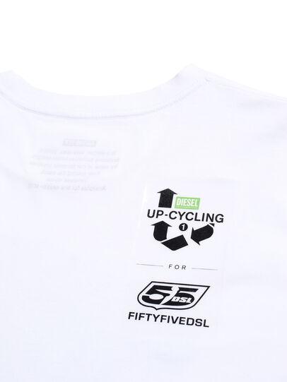 Diesel - D-SHIELD-GREEN, White - T-Shirts - Image 6