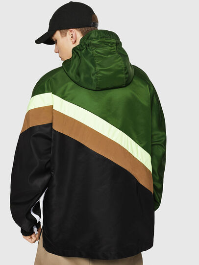 Diesel - J-ANTY, Green/Black - Jackets - Image 2