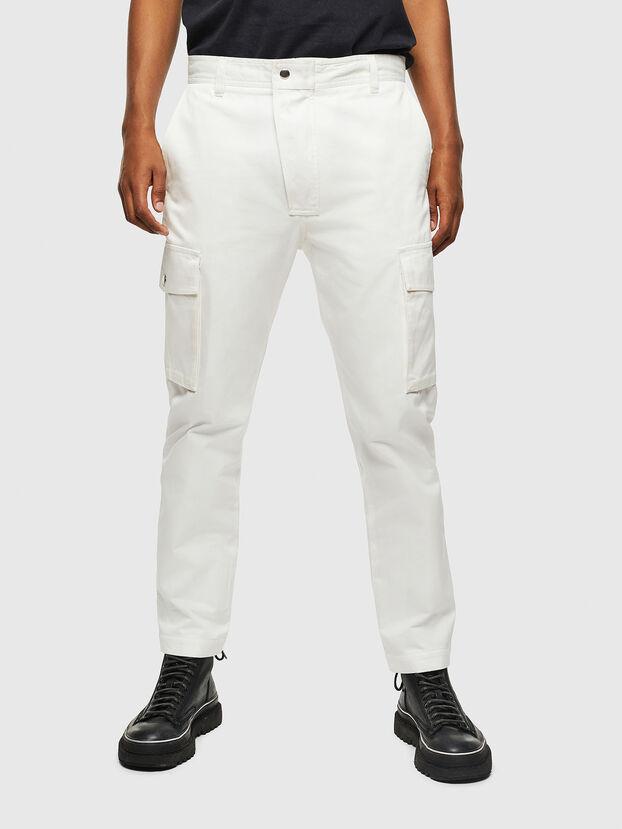 P-JARED-CARGO, White - Pants