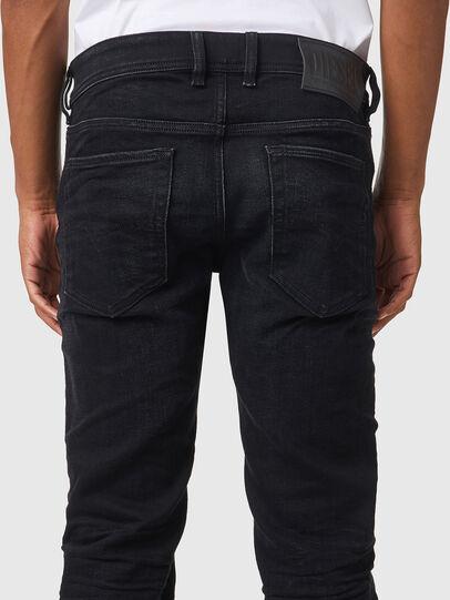 Diesel - Sleenker 09A75, Black/Dark grey - Jeans - Image 4
