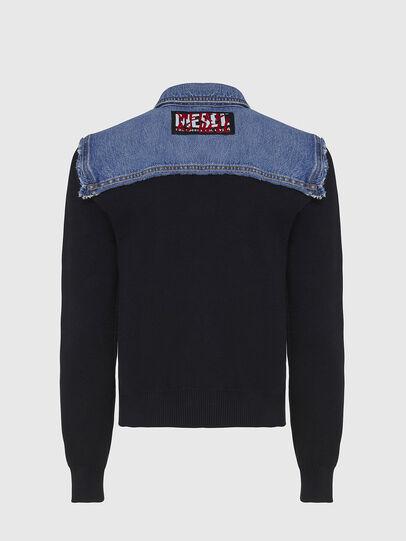 Diesel - M-ROSE, Blue/Black - Jackets - Image 2