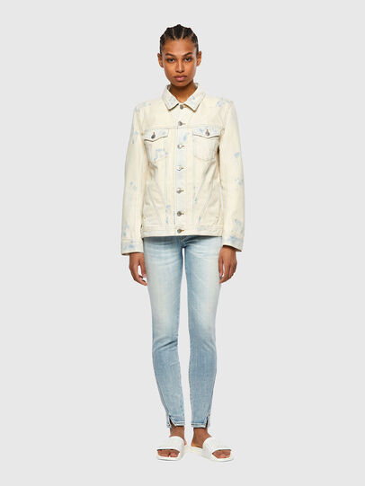 Diesel - DE-NALI-SP, Blue/White - Denim Jackets - Image 5