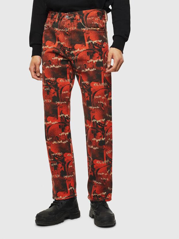 D-Macs 069KR, Red - Jeans