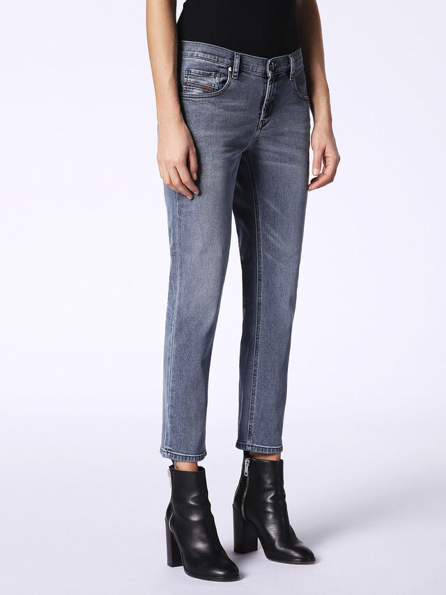 BELTHY-ANKLE-D 084SJ, Grey Jeans