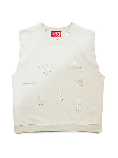 Diesel - GR02-T303, White - T-Shirts - Image 1