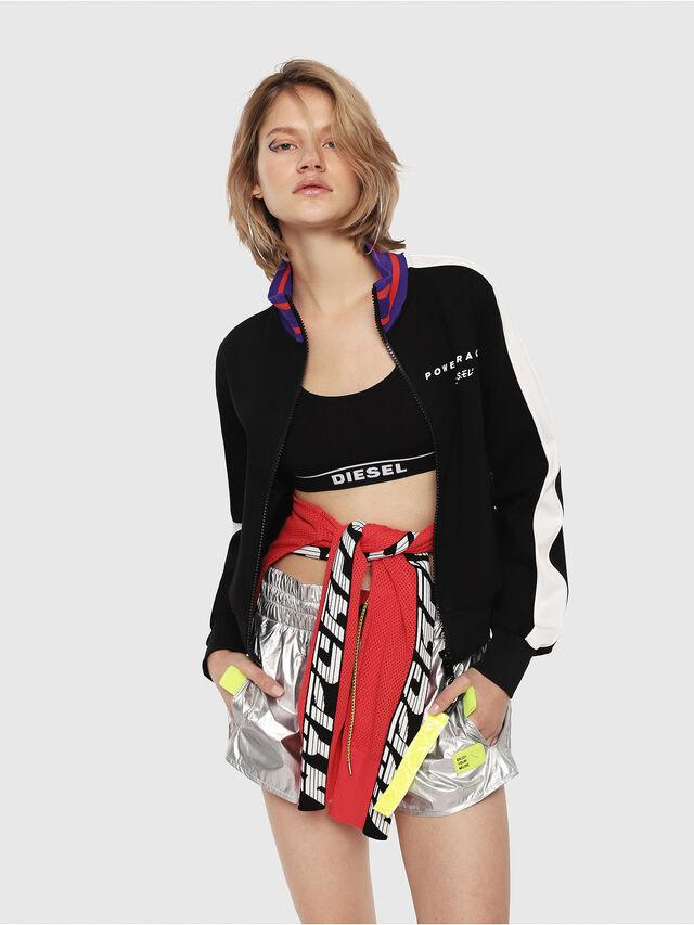 Diesel - F-LIDIUS-B, Black/White - Sweaters - Image 1