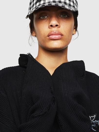 Diesel - M-JENNY, Black - Knitwear - Image 4