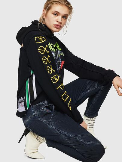 Diesel - Fayza JoggJeans 069HY, Dark Blue - Jeans - Image 4