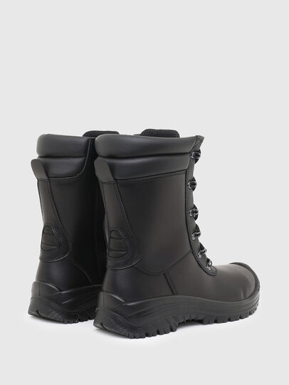 Diesel - H-WOODKUT BT, Black - Boots - Image 3