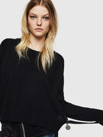 Diesel - M-PERLA, Black - Knitwear - Image 3
