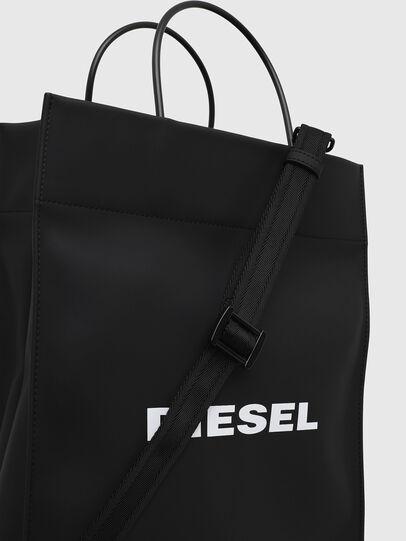 Diesel - SAKETTONE, Black - Shopping and Shoulder Bags - Image 4