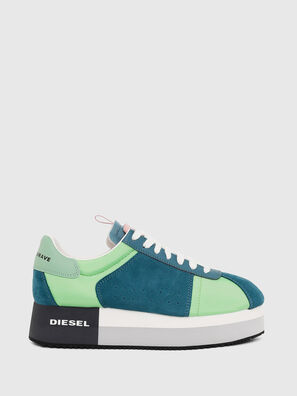 S-PYAVE WEDGE, Green/Blue - Sneakers