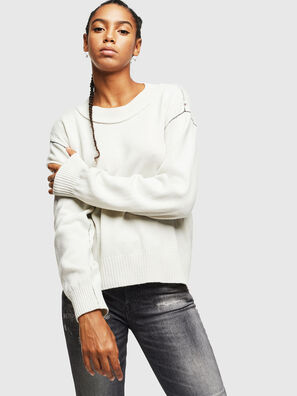 M-CURRI, White - Knitwear