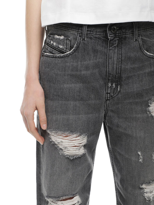 Diesel - TYPE-1815-RE, Grey Jeans - Jeans - Image 4
