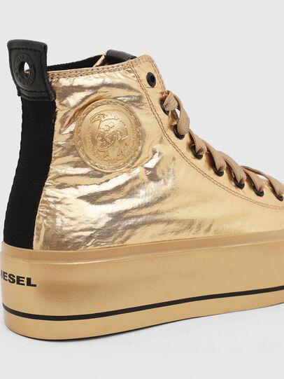 Diesel - S-ASTICO MC WEDGE, Gold - Sneakers - Image 4