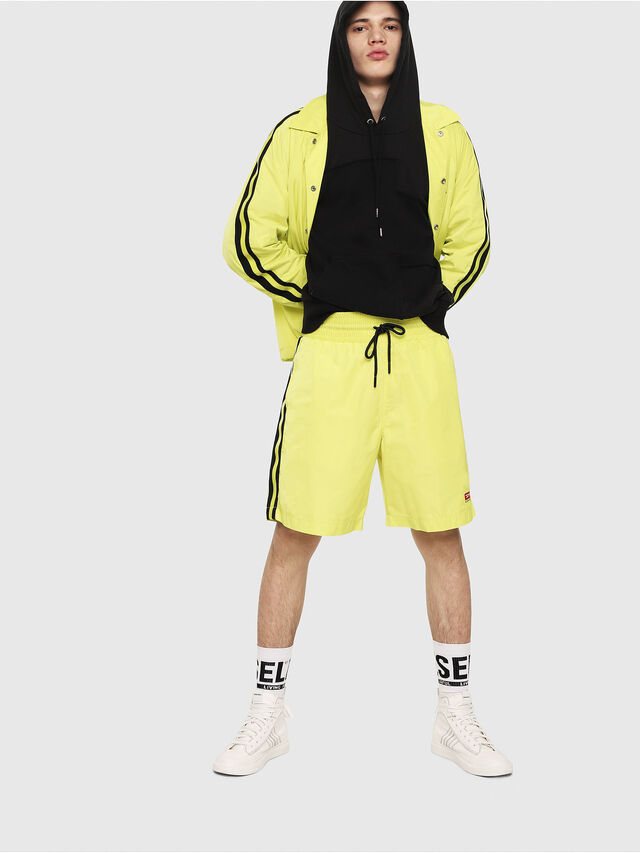Diesel - P-BOXIE, Yellow Fluo - Shorts - Image 4