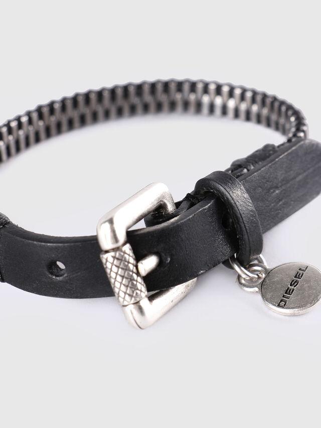 Diesel A-ZIPPER, Black/Silver - Bijoux and Gadgets - Image 2