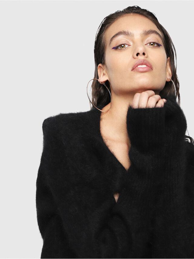Diesel - M-GIORGIA, Black - Knitwear - Image 4