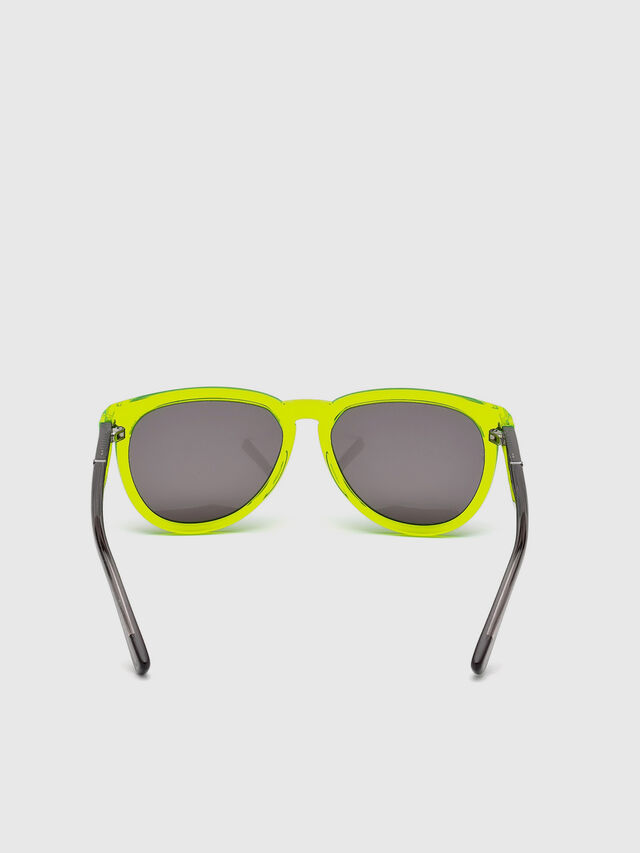 Diesel - DL0272, Yellow Fluo - Kid Eyewear - Image 4