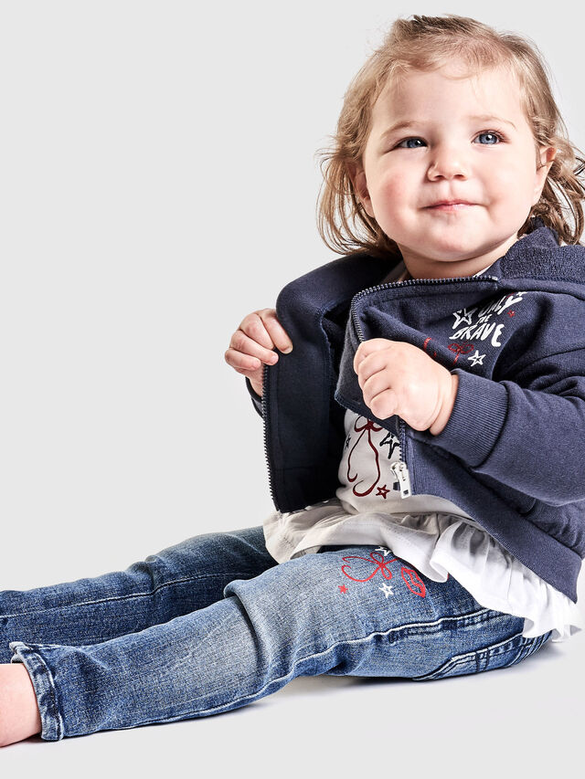 Diesel - SAROB, Dark Blue - Sweaters - Image 4