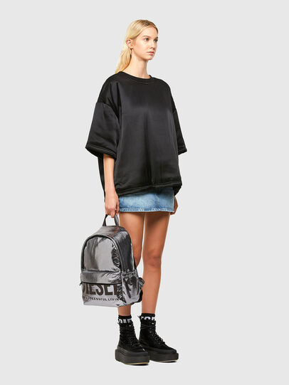 Diesel - F-BOLD BACK III, Silver - Backpacks - Image 6