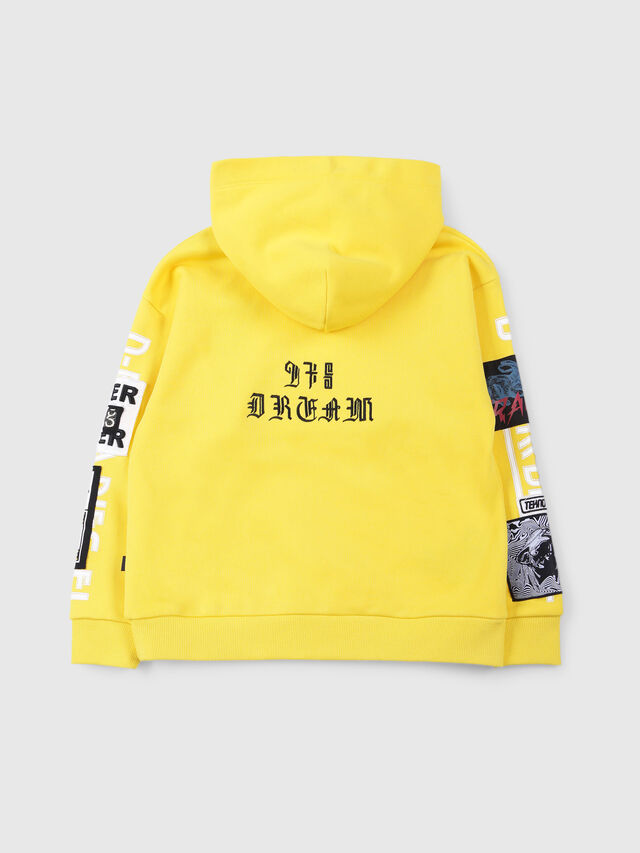 Diesel - SJACKWA OVER, Yellow - Sweaters - Image 2