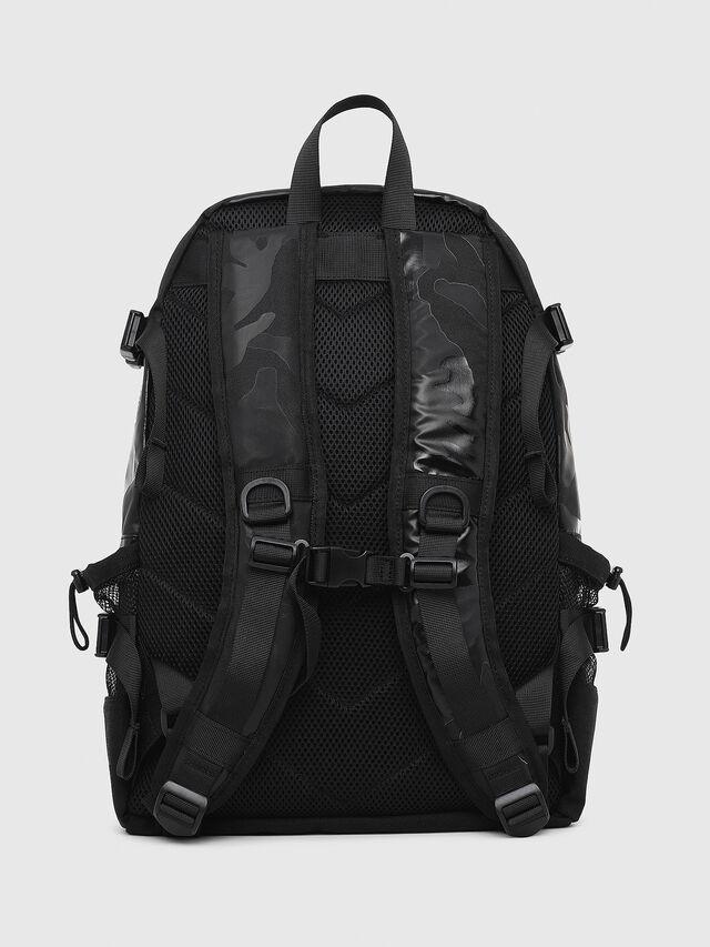 Diesel - F- URBHANITY BACK, Blue/Black - Backpacks - Image 2