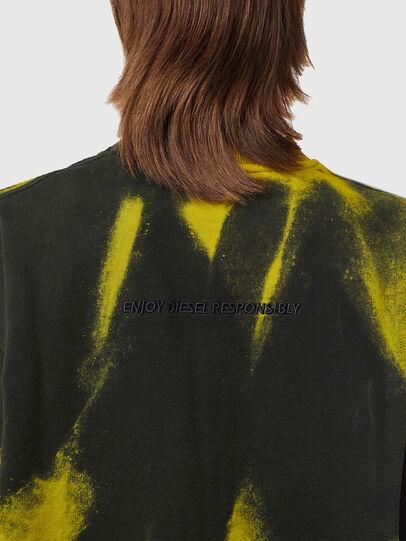 Diesel - S-MART-RIB, Yellow/Green - Sweaters - Image 6