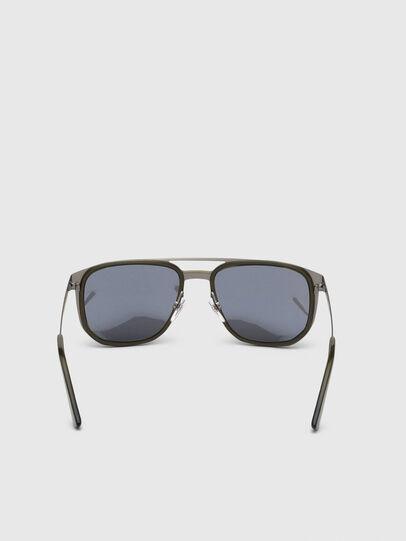 Diesel - DL0294, Olive Green - Sunglasses - Image 4