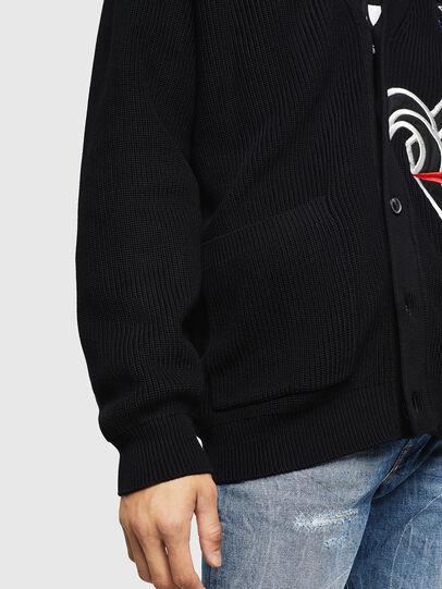 Diesel - K-EXIT, Black - Knitwear - Image 3