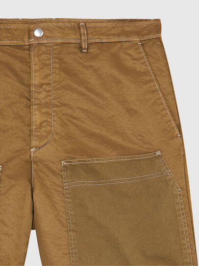 Diesel - P-TRENT-SHORT, Light Brown - Shorts - Image 3