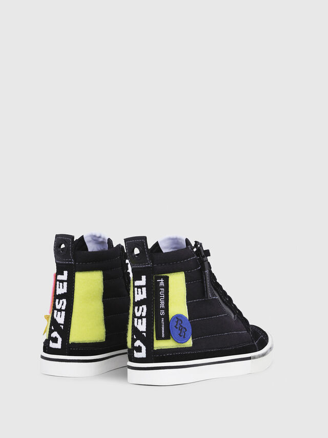 Diesel - D-VELOWS MID PATCH W, Black - Sneakers - Image 3