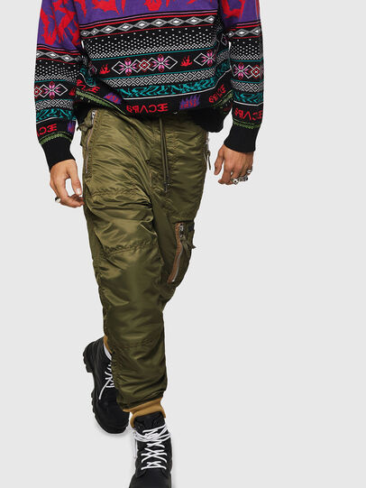 Diesel - P-LEVOKI, Military Green - Pants - Image 1