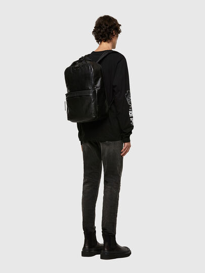 Diesel - GINKGO PP, Black - Backpacks - Image 6