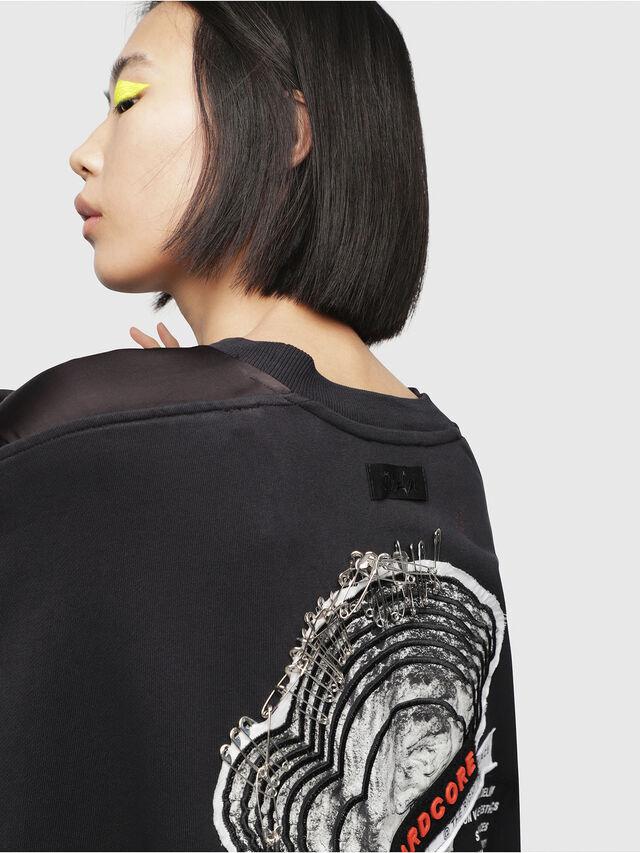 Diesel - F-TARAP-A, Black - Sweaters - Image 3