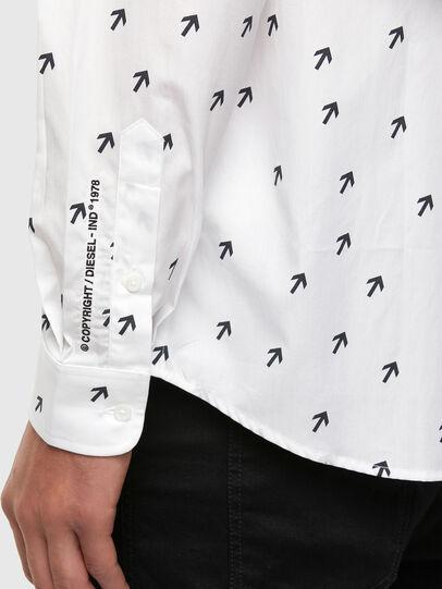 Diesel - S-RILEY-DART, White - Shirts - Image 4