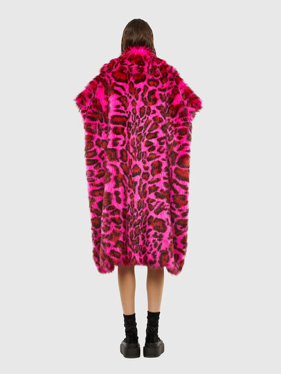 Diesel - L-WEEKY-SP, Hot pink - Leather jackets - Image 2