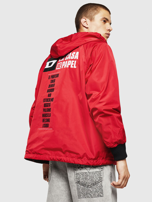 Diesel - LCP-AKI-CASA, Red - Jackets - Image 3